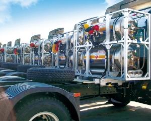 重卡车LNG供气系统